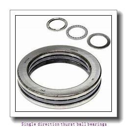 ZKL 51217 Single direction thurst ball bearings
