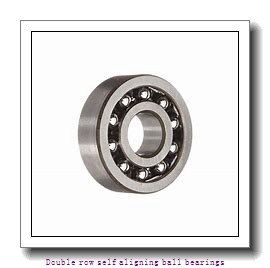 45 mm x 100 mm x 25 mm  ZKL 1309 Double row self-aligning ball bearings