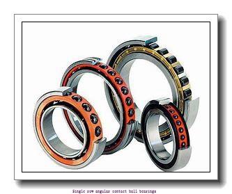 20 mm x 47 mm x 14 mm  20 mm x 47 mm x 14 mm  ZKL 7204BTNG Single row angular contact ball bearings