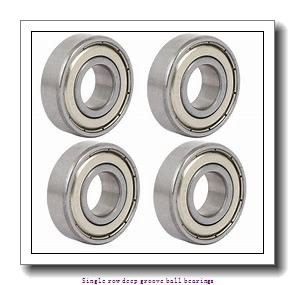 4 mm x 13 mm x 5 mm  ZKL 624 Single row deep groove ball bearings
