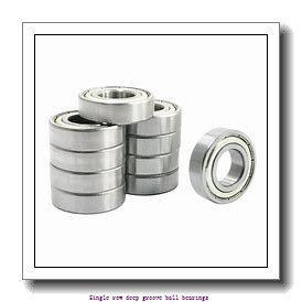 65 mm x 140 mm x 33 mm  ZKL 6313 Single row deep groove ball bearings