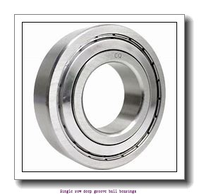 25 mm x 62 mm x 24 mm  ZKL 62305 Single row deep groove ball bearings