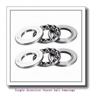 ZKL 51122 Single direction thurst ball bearings