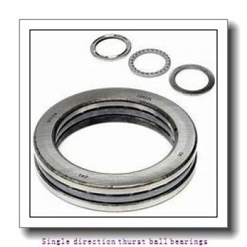 ZKL 51111 Single direction thurst ball bearings