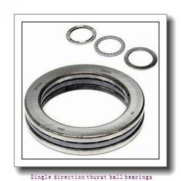 ZKL 51207 Single direction thurst ball bearings