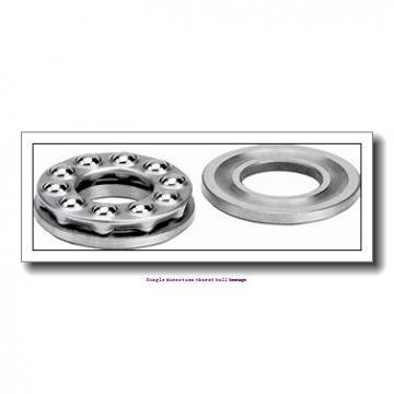 ZKL 51320 Single direction thurst ball bearings
