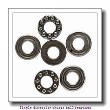 ZKL 51124 Single direction thurst ball bearings