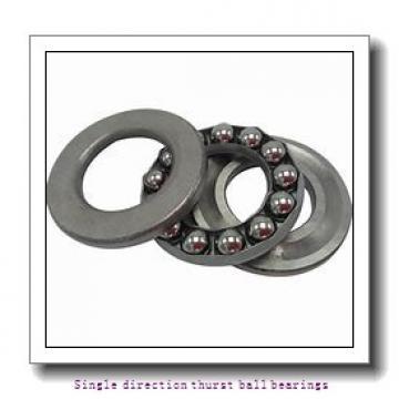 ZKL 51240 Single direction thurst ball bearings