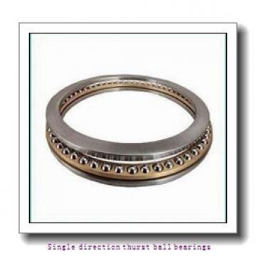 ZKL 51312 Single direction thurst ball bearings