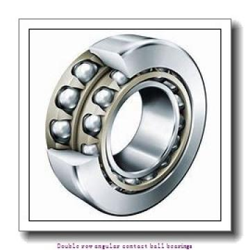 50   x 110 mm x 44.4 mm  ZKL 3310 C3 Double row angular contact ball bearing