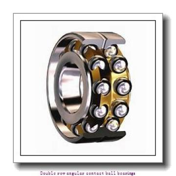 25   x 62 mm x 25.4 mm  ZKL 3305 Double row angular contact ball bearing