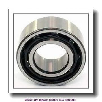 55   x 100 mm x 33.3 mm  ZKL 3211 Double row angular contact ball bearing