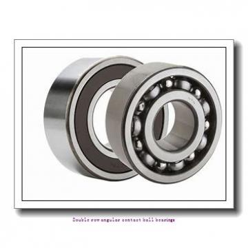 40  x 80 mm x 30.2 mm  ZKL 3208 Double row angular contact ball bearing