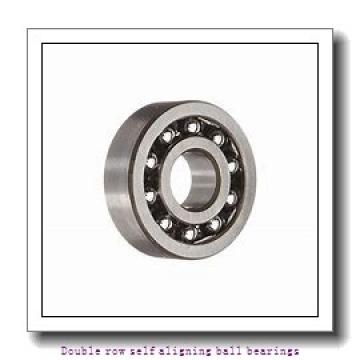 25 mm x 62 mm x 24 mm  ZKL 2305TNGN Double row self-aligning ball bearings