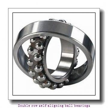 30 mm x 72 mm x 19 mm  ZKL 1306 Double row self-aligning ball bearings