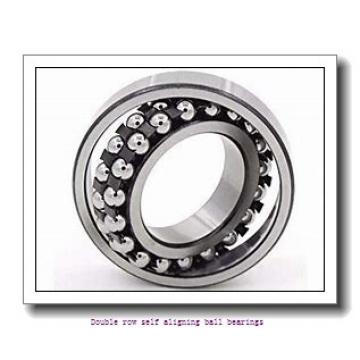 40 mm x 90 mm x 23 mm  ZKL 1308 Double row self-aligning ball bearings