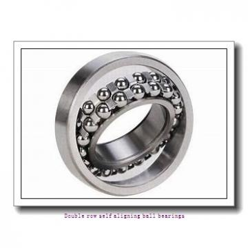50 mm x 90 mm x 20 mm  ZKL 1210 Double row self-aligning ball bearings