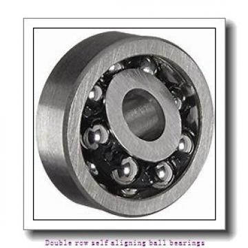 130 mm x 230 mm x 46 mm  ZKL 1226 Double row self-aligning ball bearings