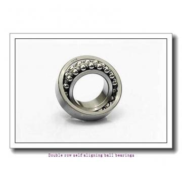 120 mm x 215 mm x 42 mm  ZKL 1224 Double row self-aligning ball bearings