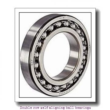 110 mm x 200 mm x 38 mm  ZKL 1222 Double row self-aligning ball bearings