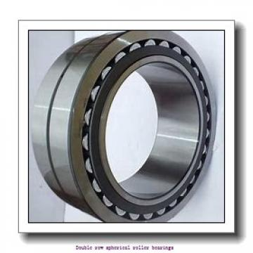380 mm x 620 mm x 243 mm  ZKL 24176EW33MH Double row spherical roller bearings