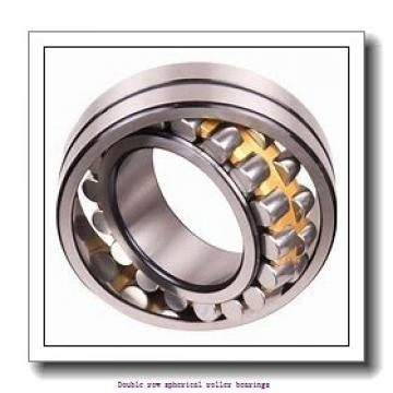 360 mm x 600 mm x 192 mm  ZKL 23172W33M Double row spherical roller bearings