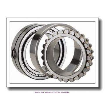 500 mm x 830 mm x 264 mm  ZKL 231/500W33M Double row spherical roller bearings
