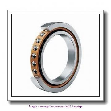 17 mm x 47 mm x 14 mm  17 mm x 47 mm x 14 mm  ZKL 7303AA Single row angular contact ball bearings