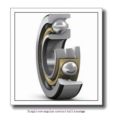 35 mm x 80 mm x 21 mm  35 mm x 80 mm x 21 mm  ZKL 7307B Single row angular contact ball bearings