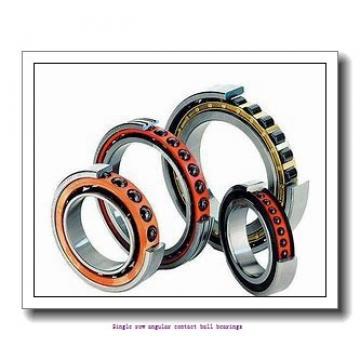 20 mm x 47 mm x 14 mm  20 mm x 47 mm x 14 mm  ZKL 7204B Single row angular contact ball bearings