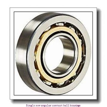 55 mm x 120 mm x 29 mm  55 mm x 120 mm x 29 mm  ZKL 7311B Single row angular contact ball bearings