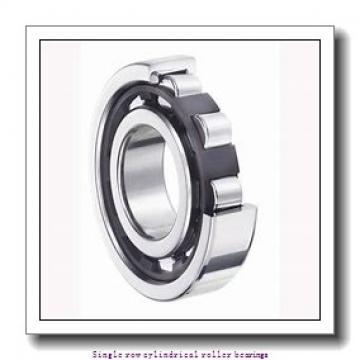 ZKL NU307E Single row cylindrical roller bearings