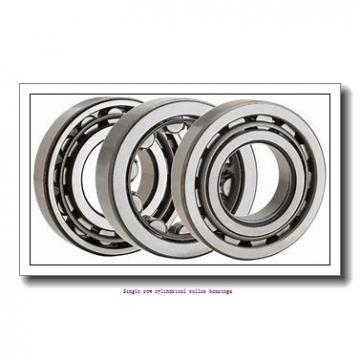 ZKL NU307 Single row cylindrical roller bearings