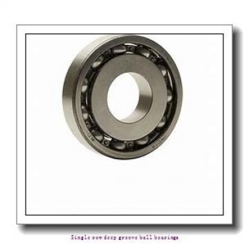 100 mm x 180 mm x 34 mm  ZKL 6220 Single row deep groove ball bearings