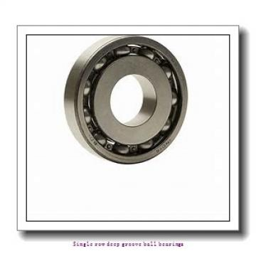 80 mm x 125 mm x 14 mm  ZKL 16016 Single row deep groove ball bearings