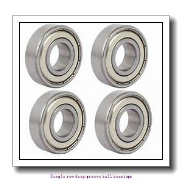 12 mm x 37 mm x 12 mm  ZKL 6301 Single row deep groove ball bearings
