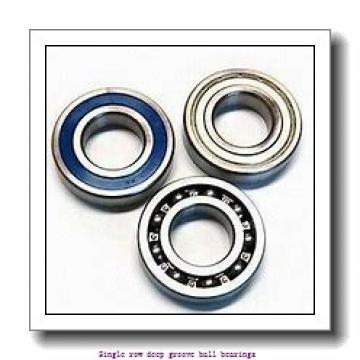 25 mm x 52 mm x 18 mm  ZKL 62205 Single row deep groove ball bearings