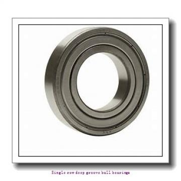 80 mm x 170 mm x 39 mm  ZKL 6316 Single row deep groove ball bearings