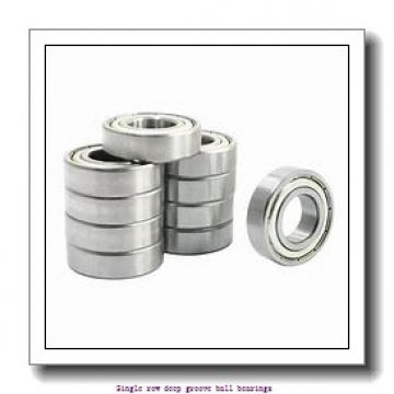 25 mm x 47 mm x 8 mm  ZKL 16005 Single row deep groove ball bearings