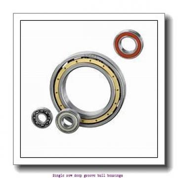 20 mm x 52 mm x 15 mm  ZKL 6304 Single row deep groove ball bearings