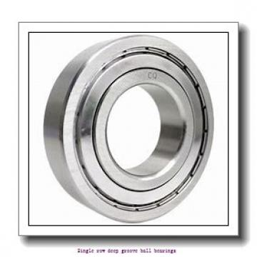 17 mm x 40 mm x 16 mm  ZKL 62203 Single row deep groove ball bearings