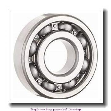 30 mm x 62 mm x 20 mm  ZKL 62206 Single row deep groove ball bearings