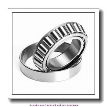 ZKL 33019A Single row tapered roller bearings