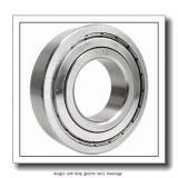 20 mm x 52 mm x 21 mm  ZKL 62304 Single row deep groove ball bearings