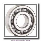 17 mm x 47 mm x 14 mm  ZKL 6303 Single row deep groove ball bearings