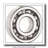 20 mm x 42 mm x 8 mm  ZKL 16004D Single row deep groove ball bearings
