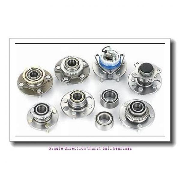 ZKL 51411 Single direction thurst ball bearings #2 image
