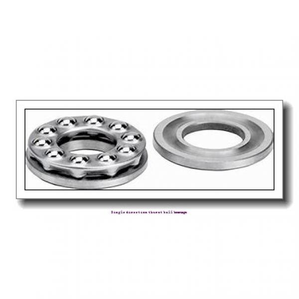 ZKL 51411 Single direction thurst ball bearings #1 image