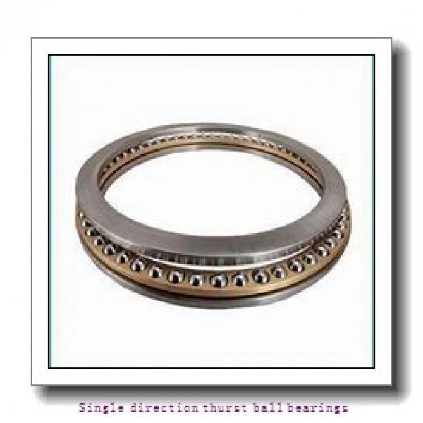 ZKL 51306 Single direction thurst ball bearings #1 image