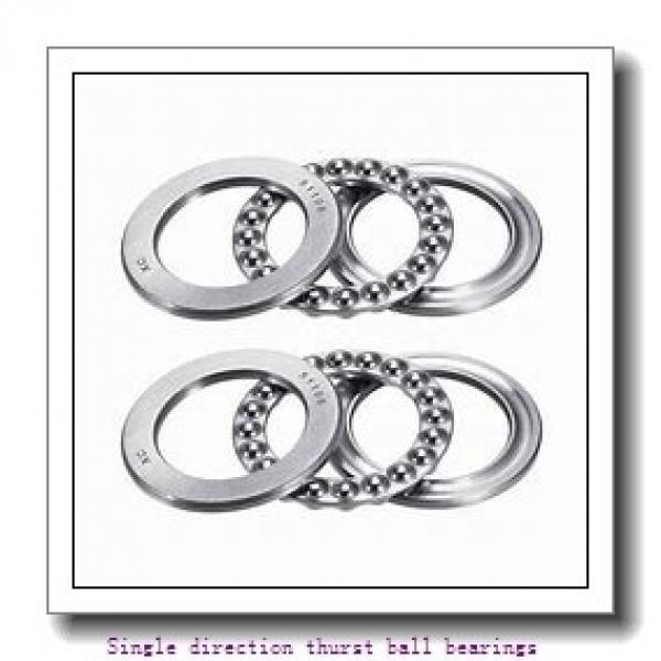 ZKL 51148 Single direction thurst ball bearings #1 image